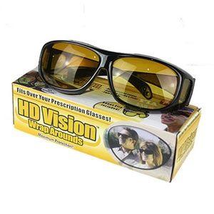 Accessories - HD Vision Wrap Around Driving Anti Glare Glasses